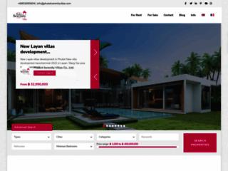 Détails : Villas et appartements à louer et à vendre à Phuket, Thaïlande