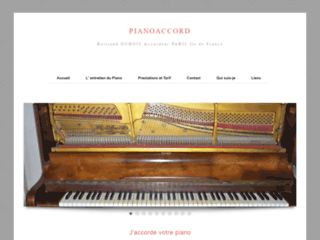 Détails : Piano Accord : Accordeur PARIS