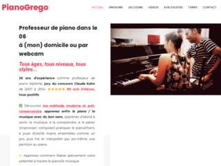 Cours de piano avec professeur Grégoire