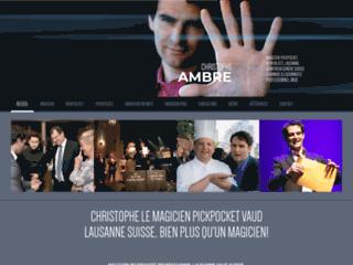 Détails : Magicien pickpocket animation mariage Genève Suisse