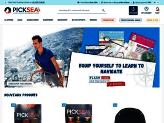 Détails : Picksea : accessoires de bateaux et sécurité en mer