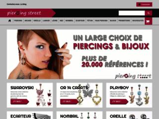 Boutique en ligne de vente de Piercings de qualité