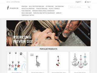 Boutique en ligne de piercing et accessoires coquins
