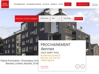 Pierre promotion : promoteur immobilier en Bretagne