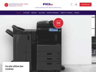 Détails : Location imprimante Hainaut
