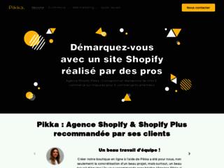 Détails : Pikka : votre agence e-commerce 100 % Shopify
