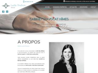 Avocat Nîmes - droit du travail - construction : Me Pinchon
