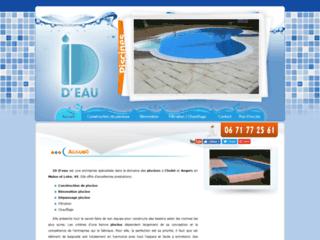 Détails : ID D'eau, Entreprise de piscines
