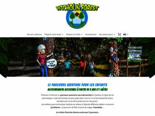 Pitchoun Forest, parcours aventure et accrobranche
