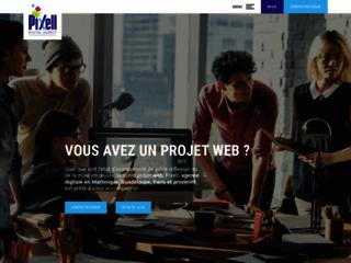 Création de site internet en Martinique - Pixell