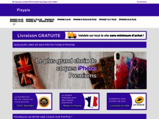 Pixypia, boutique en ligne de protections pour smartphones