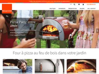 Pizzacook.ch, revendeur officiel des fours à pizza au feu de bois