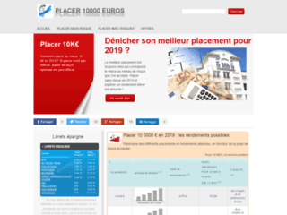 Placer 10000 euros