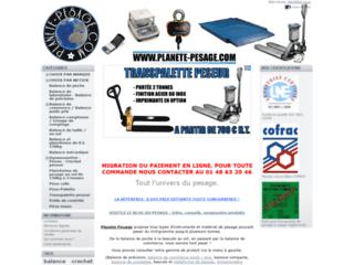 Détails : Planete Pesage, le pesage industriel par excellence.