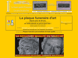 Détails : Obtenez des plaques funéraires de qualité avec notre atelier