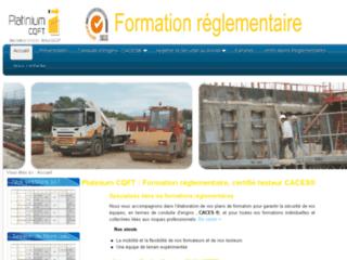 Détails : Formation réglementaire, certification CACES