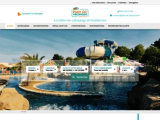 pleinair-vacances.fr: site de location d'hébergements de vacances