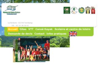 Détails : Le Centre de Pleine Nature pour les groupes d'enfants et les particuliers