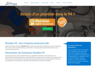 Plombier 94, entreprise de plomberie dans le Val de Marne
