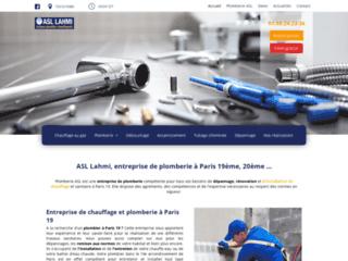 ASL Lahmi, entreprise de plomberie à Paris 19ème, 20ème
