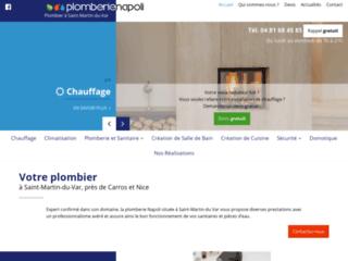 Votre plombier à Saint-Martin-du-Var, près de Carros