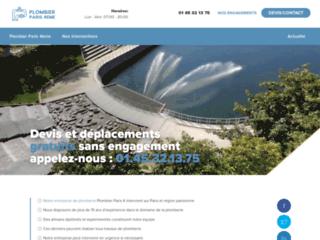 Plombier Paris 4 : Devis/Déplacement Gratuits & sans engagement