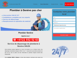 Plombier Secours à Genève