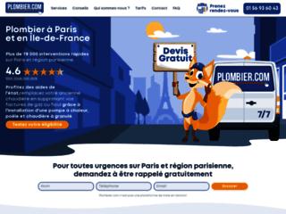 Détails : Trouvez votre plombier en ligne pour dépannage d'urgence