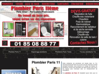 Plombier Paris 11e