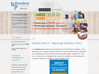 Détails : plombierparis13-eme.com