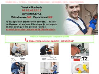 Votre artisan-plombier professionnel pas cher à Paris 1