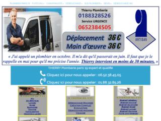 Votre plombier qualifié et pas cher à Paris 19
