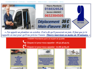 Des plombiers compétents à votre service 24h/24 dans Paris 20