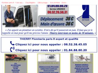 Plombierpascherparis8.paris : recherche de fuite encastrée, un service de qualité