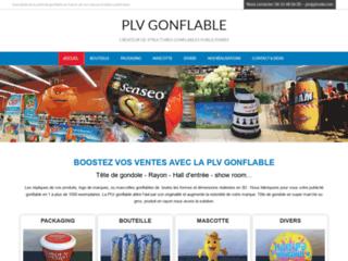Structure gonflable publicitaire