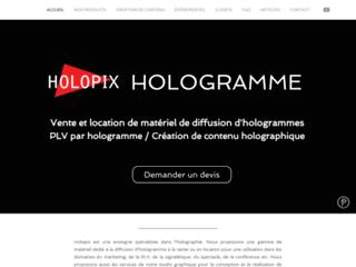 holopix - communication par l'hologramme