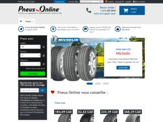 Détails : Pneus Online Canada, vente en ligne de pneus