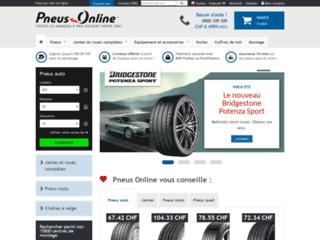 Détails : Pneus Online Suisse
