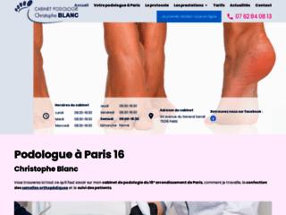 Détails : Podologue à Paris