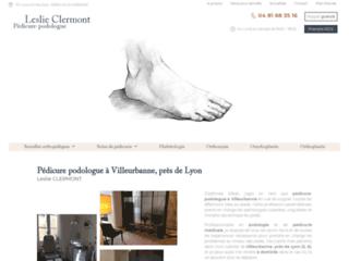 Pédicure podologue à Villeurbanne Leslie CLERMONT