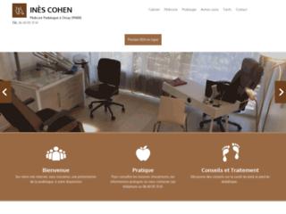 Détails : Inès Cohen, des soins de podologie à Orsay