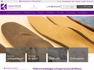 Pédicure podologue à Coupvray près de Meaux
