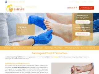 Soins de podologie et de pédicurie à Paris 12