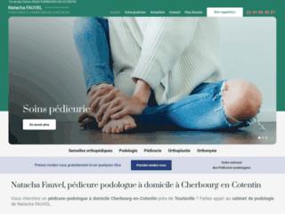 Natacha Fauvel, pédicure podologue à domicile à Cherbourg-en-Cotentin