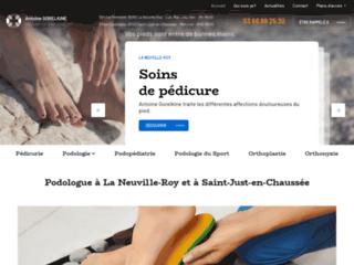 Podologue à La Neuville-Roy et à Saint-Just-en-Chaussée