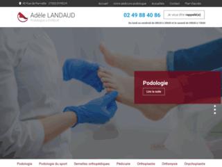 Podologue pédicure à Évreux, Gravigny : Adèle LANDAUD
