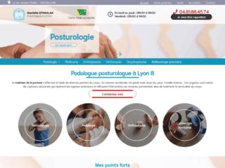 Mme Stimulak Danielle, Podologue posturologue à Lyon 8
