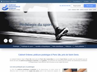 Cabinet Ordener, pédicure podologue à Paris 18e, près de Saint-Denis