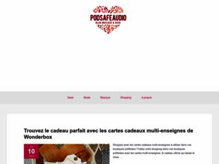 Détails : Pod Safe Audio.com : Site de tchat