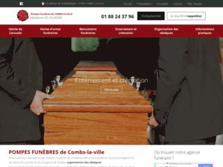 Détails : POMPES FUNÈBRES de Combs-la-Ville